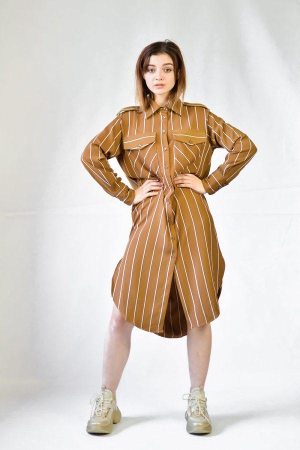 Платье Imperial коричневое