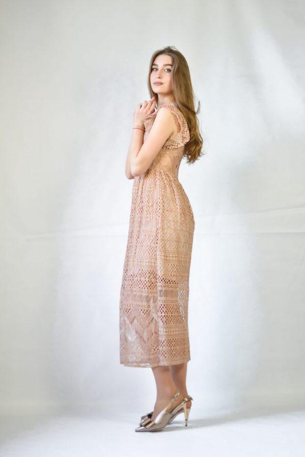 Платье Rinachimento бежевое