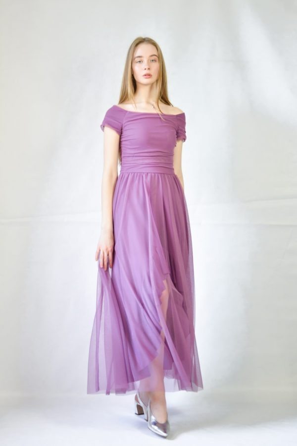 Платье Rinachimento фиолетовое