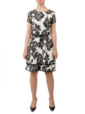 Платье Rinascimento с цветами