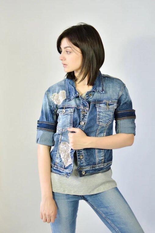 Куртка SMAGLI jeans джинсовая
