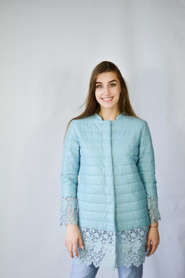 Куртка Rosa Shock голубая