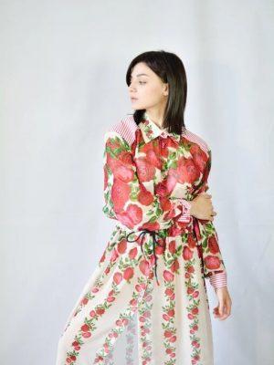 Платье Tenax  с цветами