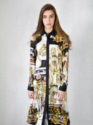 Gil Santuchi платье с принтом