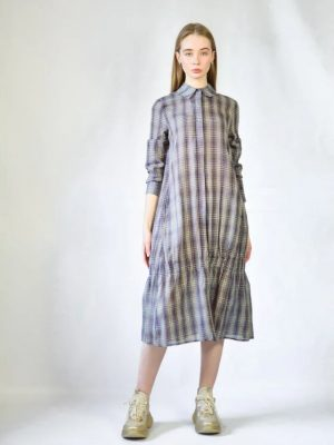 Платье Normcore в клетку