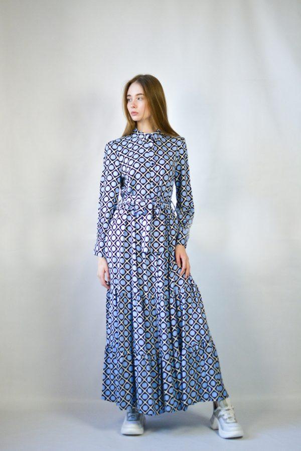 Платье Lumina голубое