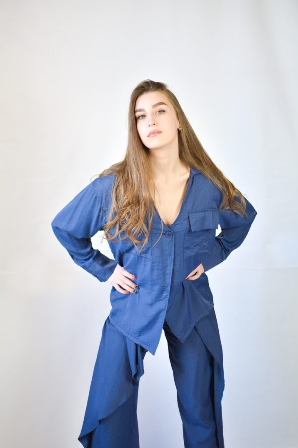 Штаны Normcore Костюм синий