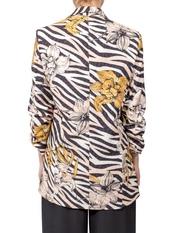 Пиджак Rinascimento с цветами