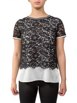 Блуза Sfizioс с гипюром