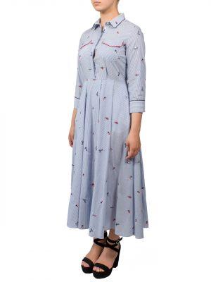 Платье-рубашка Sfizio в полоску