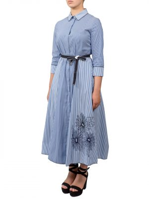 Платье Beatrice в полоску с цветами