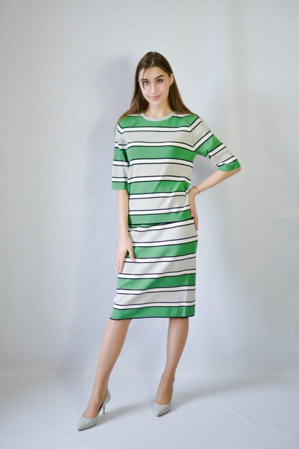 Костюм Beauty Women в полоску зеленый