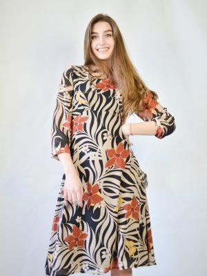 Платье Normcore c цветами