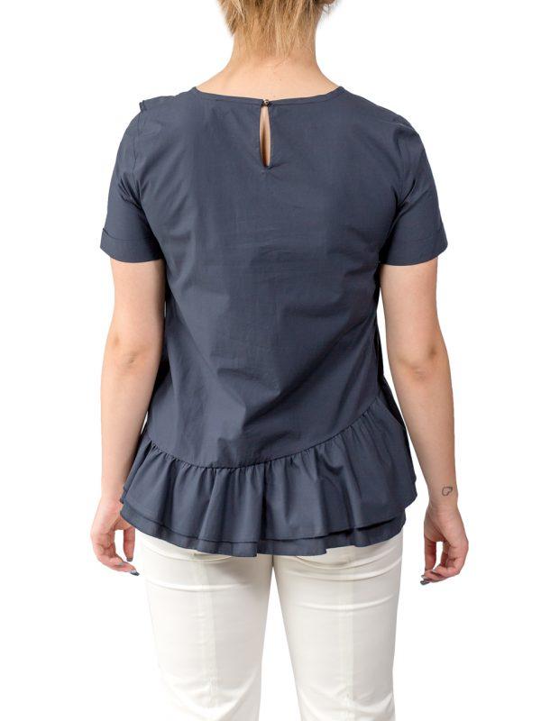 Блуза Sfizio темно-синяя