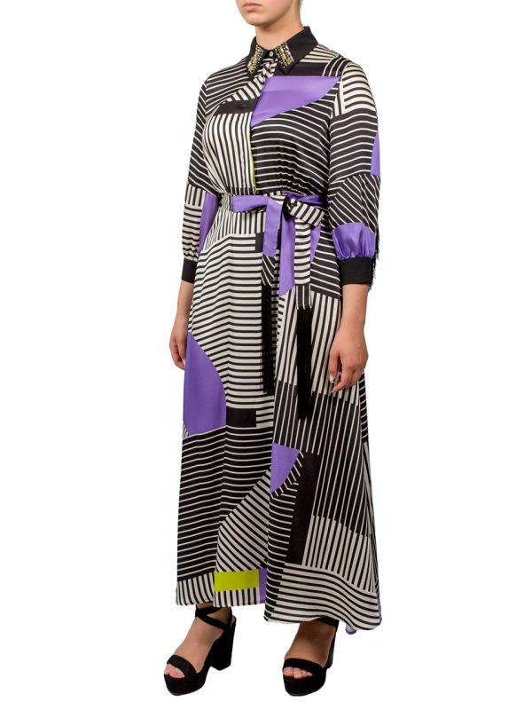 Платье Beatrice с бахромой