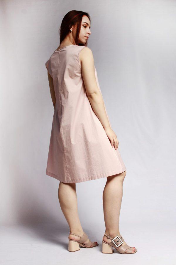 Платье Peserico нежно-розовое