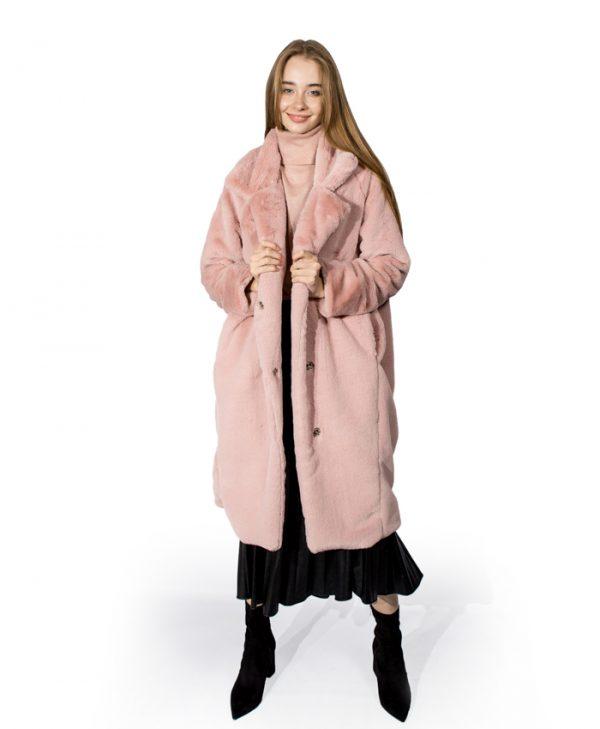 Шуба  Barbara Collection розовая