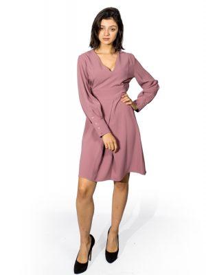 Платье Sandro Ferrone розовое