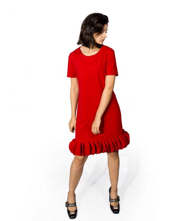 Платье Sandro Ferrone красное