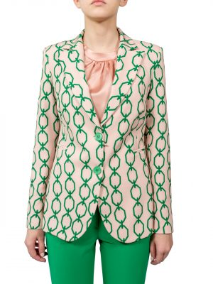 Пиджак Rinascimento с узорами