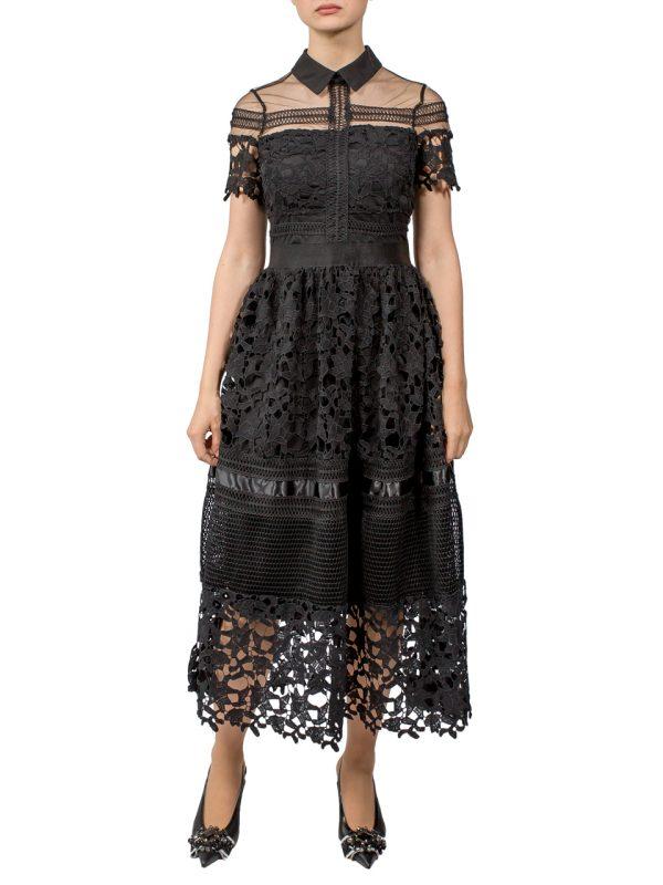 Платье Paccio черное