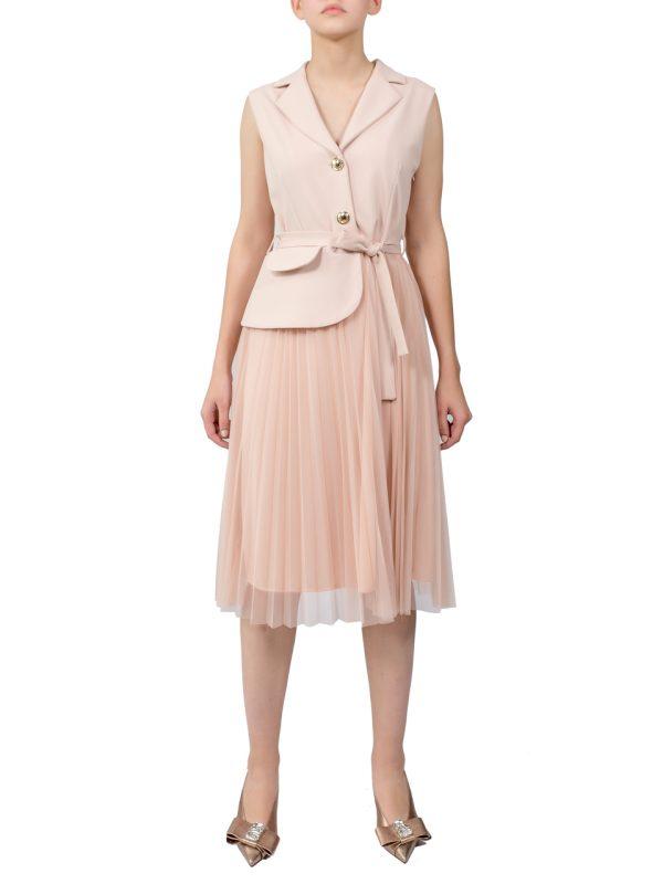 Платье Rinascimento пудровое