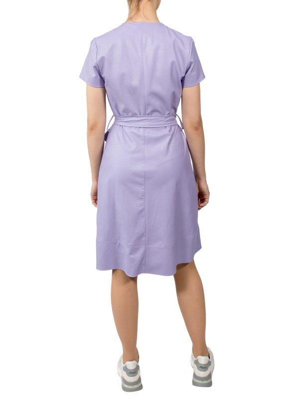 Платье Rinascimento кожаное