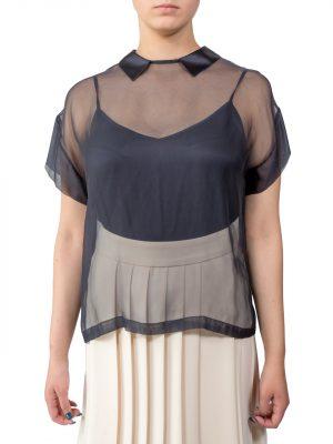 Блуза Peserico черная