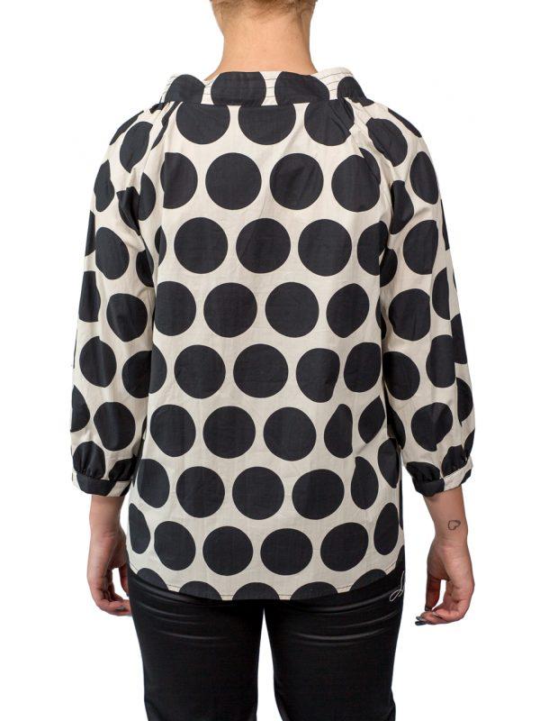 Блуза Paquito в крупный горошек