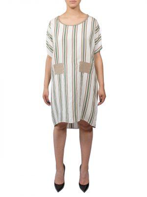 Платье 938 Studio в полоску