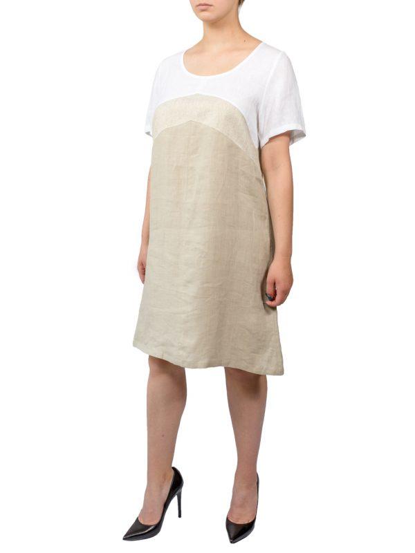 Платье Made in Italy льняное