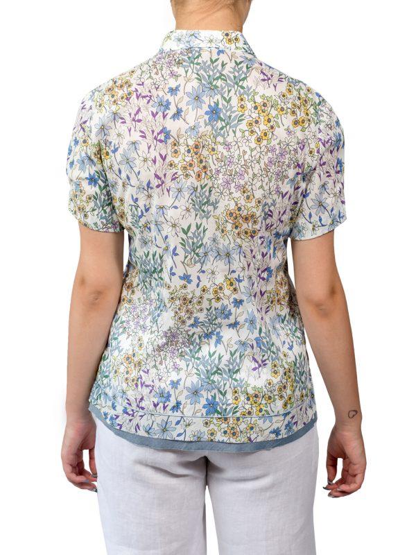 Рубашка Paquito в цветочек