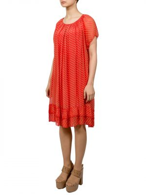 Платье Made in Italy в горошек