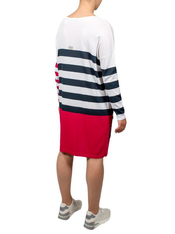 Платье VDP в полоску