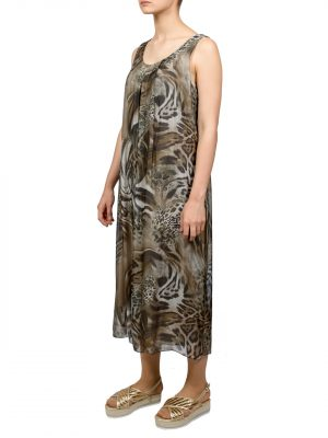 Платье Made in Italy с леопардовым принтом