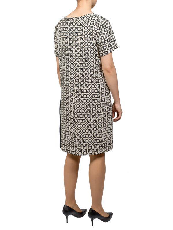 Платье Rinascimento с узором и плиссировкой