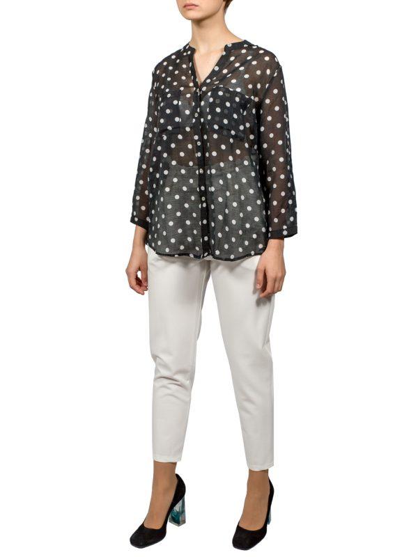 Блуза Lara в горошек