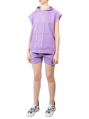 Костюм Lumina фиолетовый с пайетками