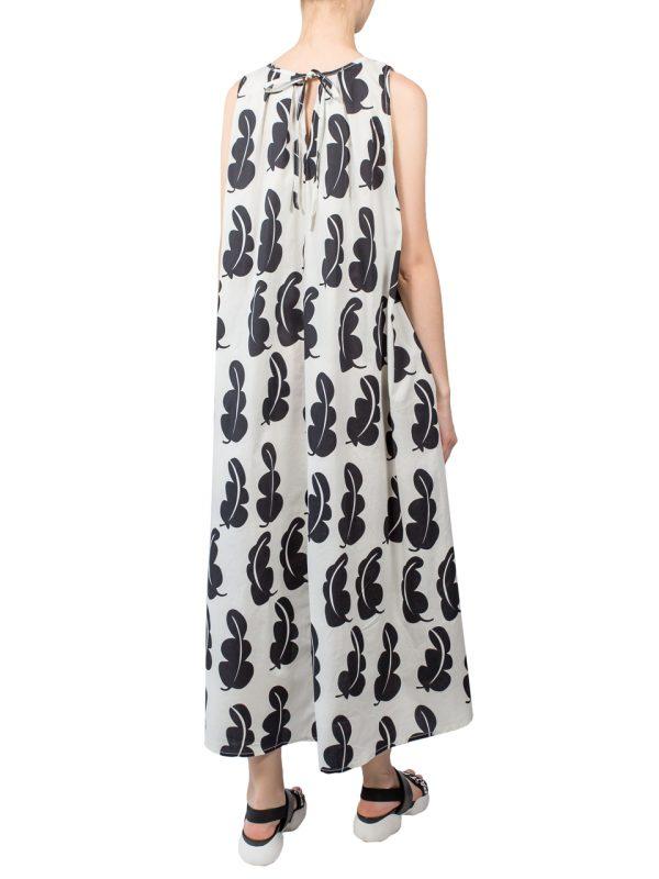 Платье Lumina бежевое с рисунком