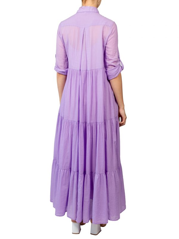 Платье-халат Imperial лиловое