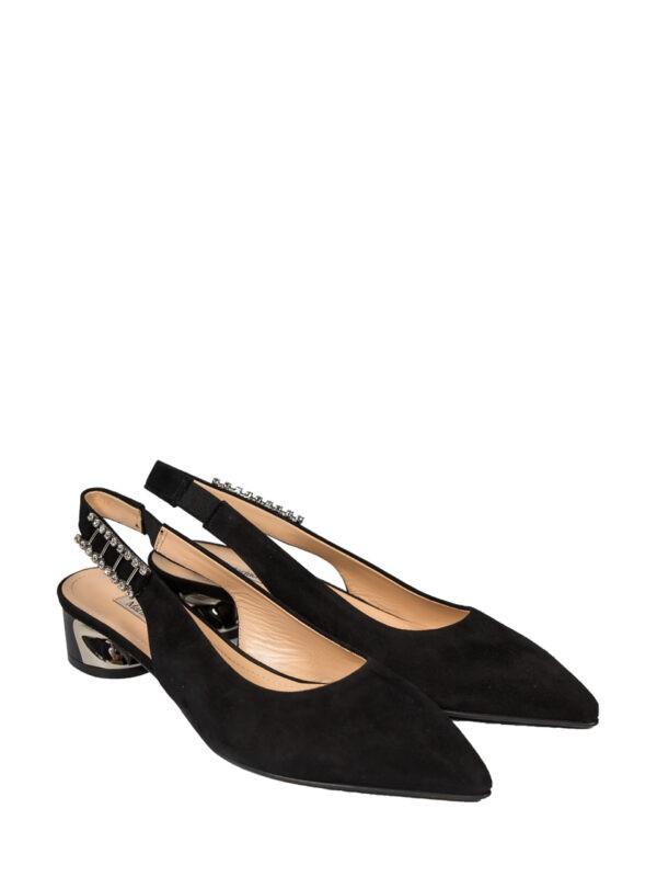 Туфли Marino Fabiani черные замша
