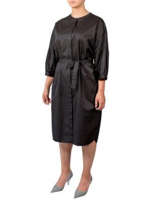 Платье Peserico черное с поясом