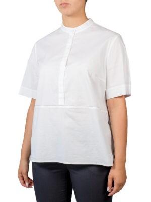 Рубашка Peserico белая с коротким рукавом