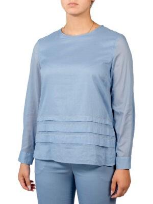 Блуза Peserico голубая