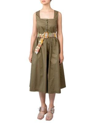 Платье Imperial хаки