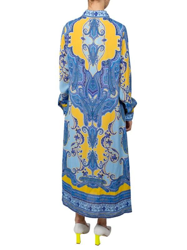 Платье Luisa Spagnoli синее миди