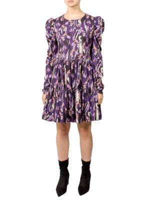 Платье Imperial свободного кроя в цветочек