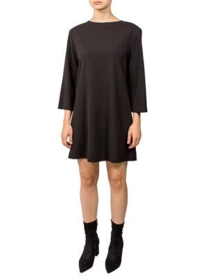 Платье Imperial черное с подплечниками
