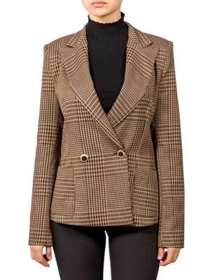 Пиджак Imperial коричневый гусиная лапка