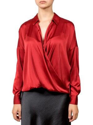 Блуза Imperial вишневого цвета